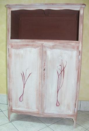technique de peinture effet chaul sur les murs et les meubles. Black Bedroom Furniture Sets. Home Design Ideas