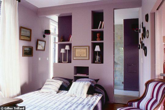 Un bon rangement de la chambre coucher est r alisable - Peinture de chambre a coucher ...