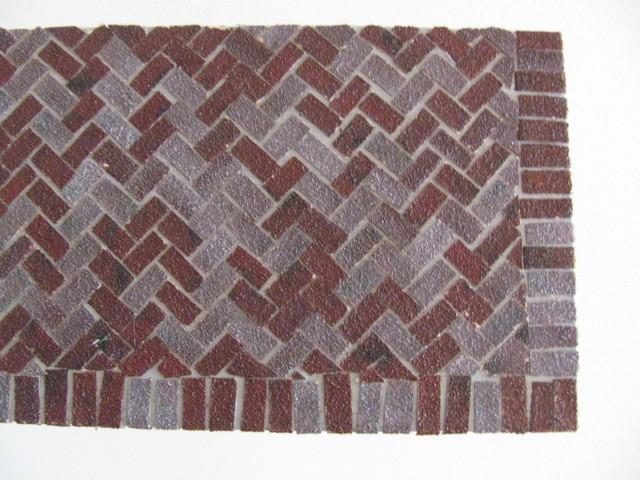 rev tement des sols durs avec les briques la terre cuite et gr s. Black Bedroom Furniture Sets. Home Design Ideas