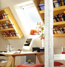 astuces pour am nager un coin biblioth que dans un living. Black Bedroom Furniture Sets. Home Design Ideas