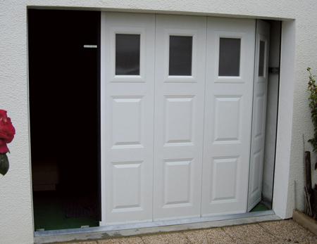 Choisir une porte de garage selon la s curit - Comment ouvrir une porte de garage basculante ...