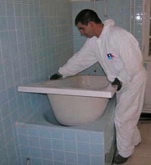 Comment installer une baignoire - Comment enlever une baignoire ...