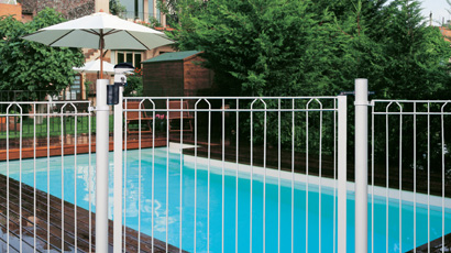 Barri re de protection de piscine avec points d 39 acc s for Barrieres de protection pour piscine