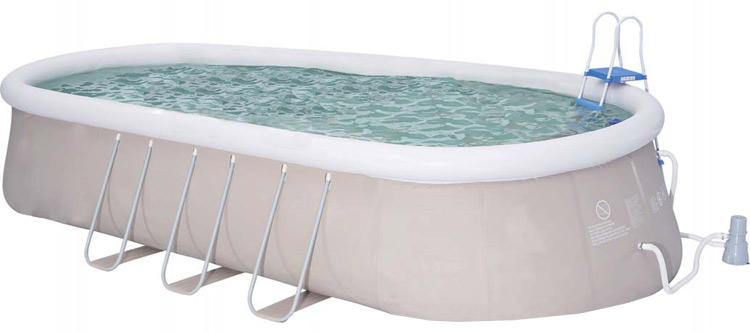 Types de piscine gonflable for Piscine a boudin