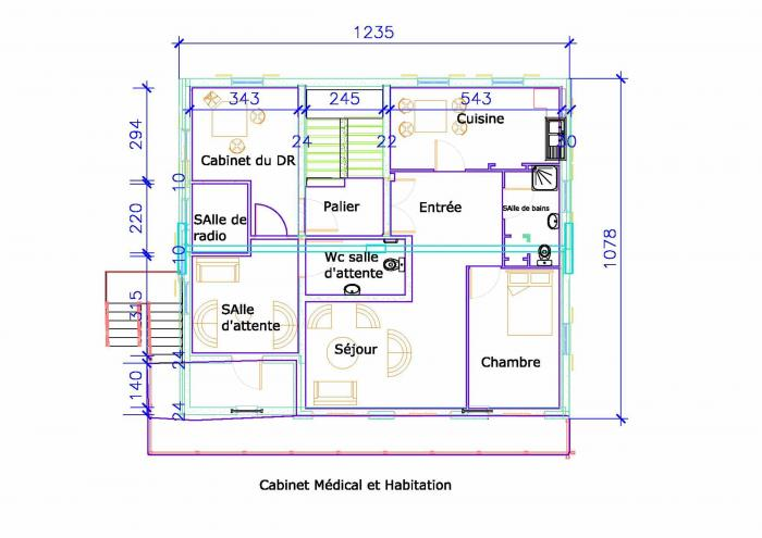 Architectes et plans de maison for Plan de maison architecte