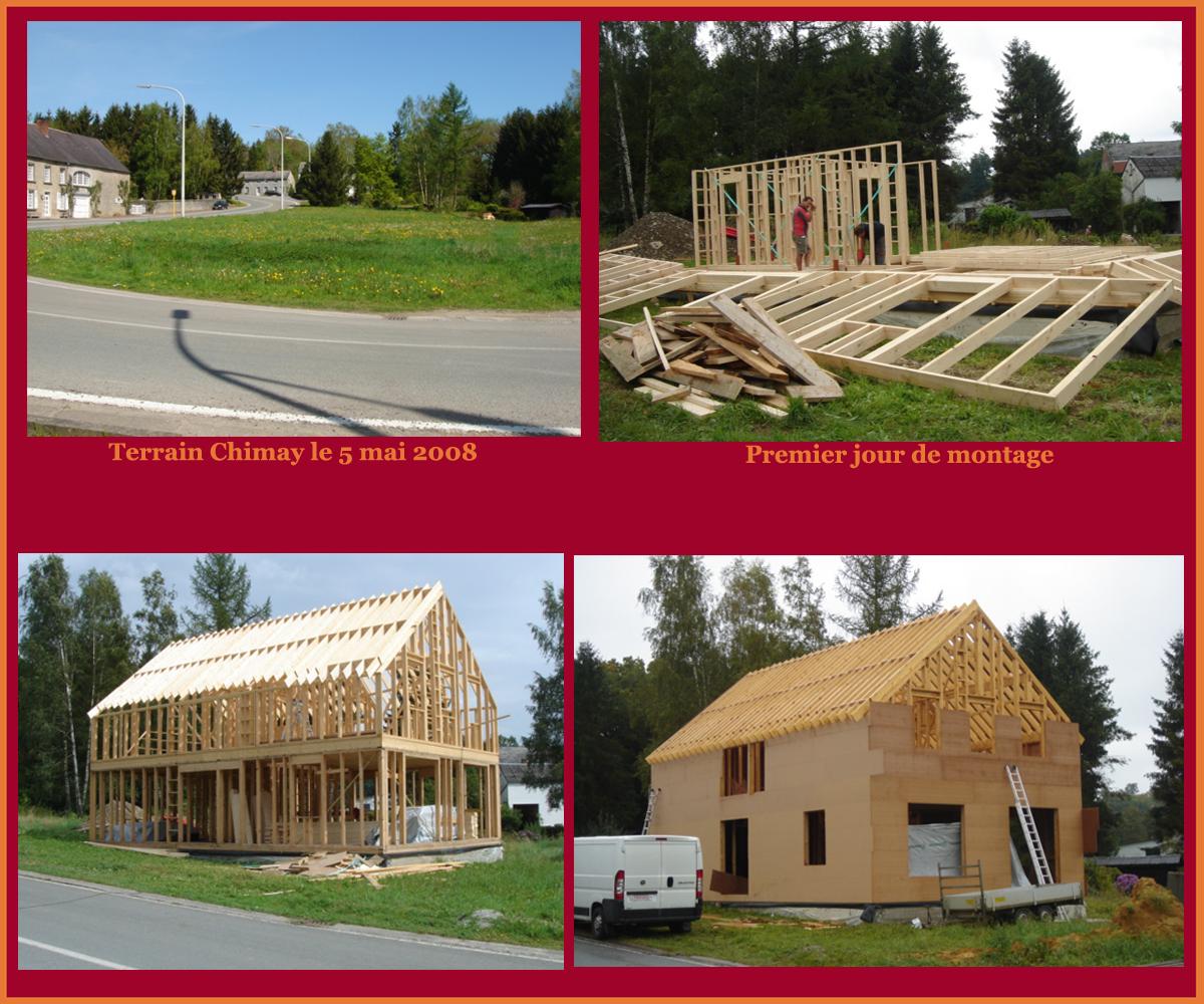 Tapes de construction d 39 une maison for Etape administrative construction maison
