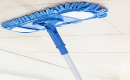 Comment nettoyer correctement un plafond for Appareil pour nettoyer la moquette